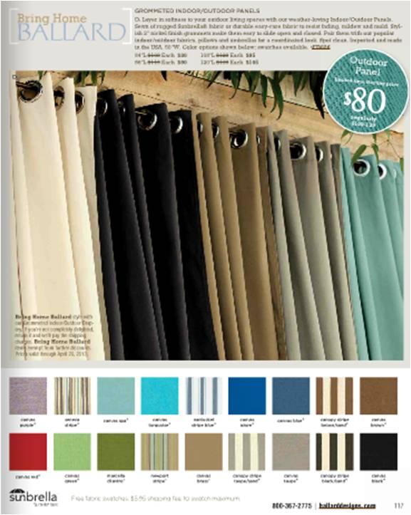 ballard drapes