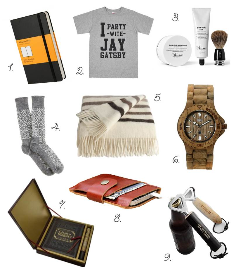 Him Gift Guide