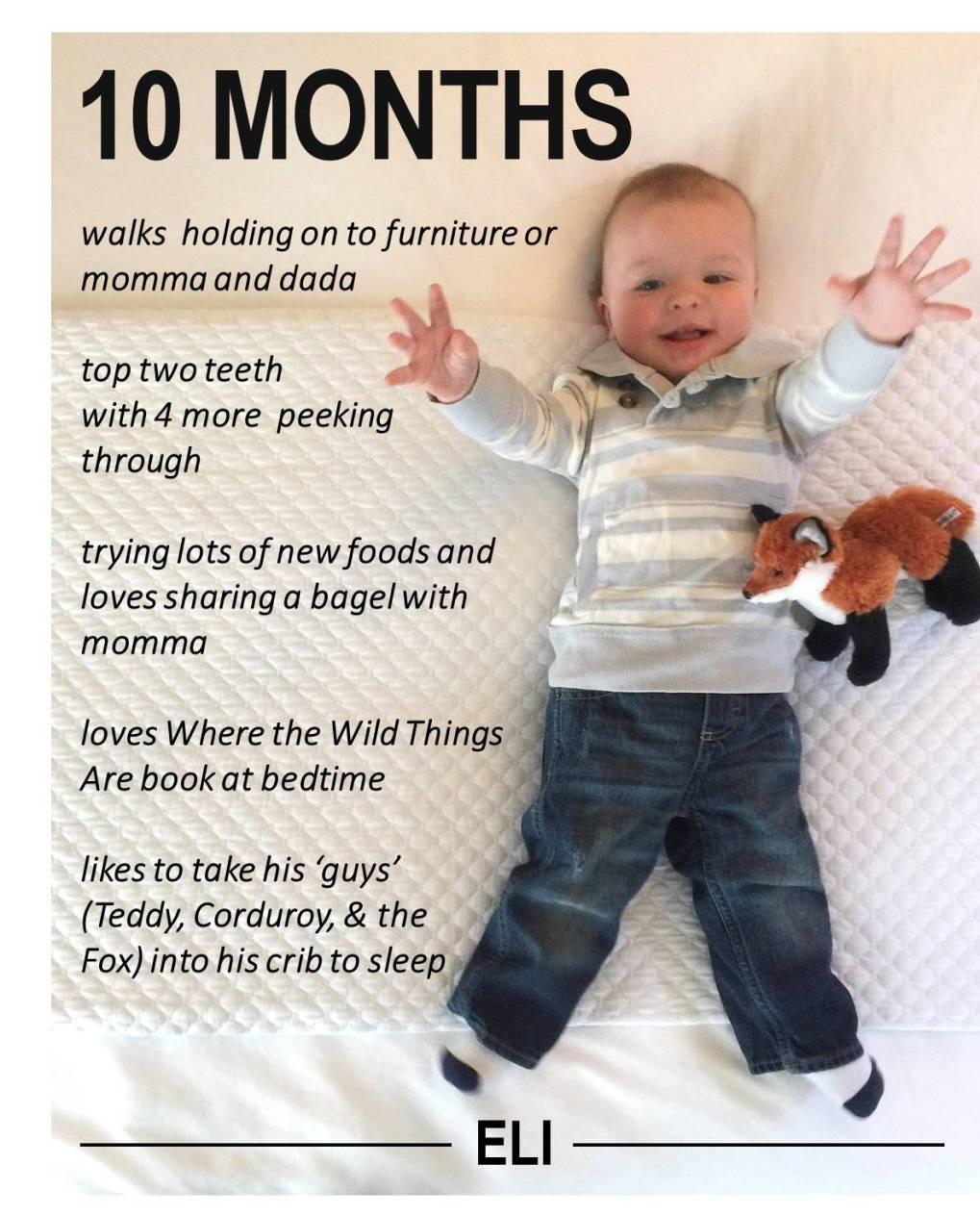 Eli 10 Months